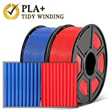 【Upgraded Tidy Winding】 Enotepad upgraded PLA Plus (PLA+) filament winds layer by layer forming an extremely neat winding. This ensures continuously fluent filament flow and avoid printing halfway due to tangle problem. Freed from tangled and knotted...