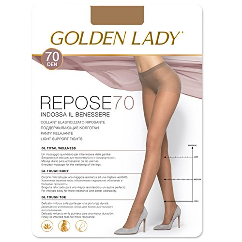 Golden Lady - Panty Repose 70 Descanso Mujer Color: Melon Talla: Large
