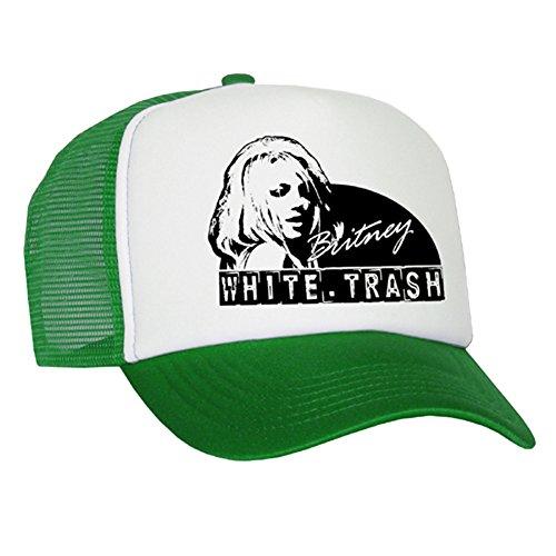 Bastart Caps Raphia Art White Trash – Casquette en maille Britney/Green