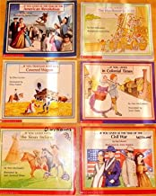 Children's History 6 volume set: IF YOU... Lived at Time of American Revolution... At the Time of the Civil War... Traveled West in a Covered Wagon... Sailed on Mayflower in 1620... Lived with the Sioux Indians...Lived in Colonial Times