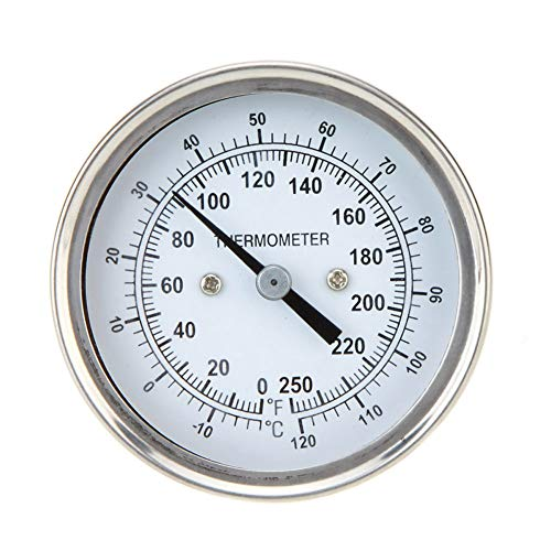 zNLIgHT Tool | RVS Dial Oven Grill Thermometer BBQ Koken Temperatuur Gauge Meter OneSize OneColor