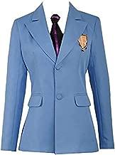 Cos-Love Ouran High School Host Club Adult Uniform Blazer and Tie,Anime Fujioka Haruhi Cosplay Costume Halloween (in Stock)