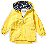 Carter's Toddler Boys' Little Favorite Rainslicker Rain Jacket, Always Sunny Yellow, 3T