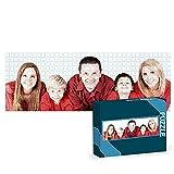 Puzzles Personalizados 1000 Piezas panorámico con Fotos | Varios tamaños Disponibles (4 a 2000 Piezas) | Material: Cartón | Tamaño: 1000 Piezas (96 x 34 cm) - con Caja Personalizada