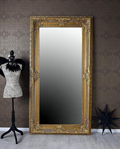 Standspiegel Barock Wandspiegel Ganzkörperspiegel Antik Ankleidespiegel Gold neu sna013 Palazzo Exklusiv