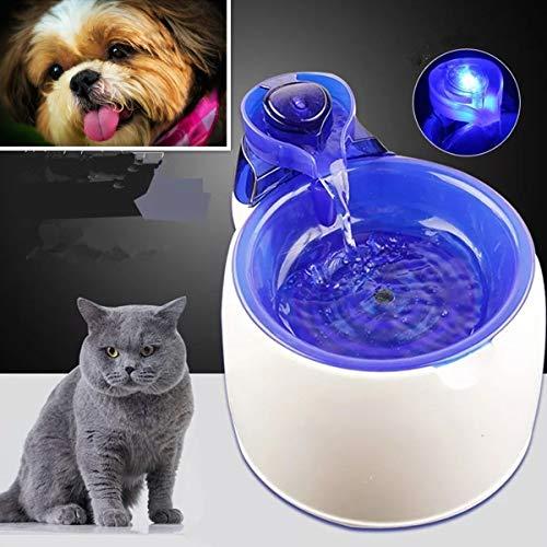 EgBert 3L Elektro-Elektro-Haus-Wasser-Wasser-Brunnen Hund Katze Trinkbecken Schüssel Wasserfall Feeder Auto Pet Wasser-Drinking Für Katzenwasser-Dispenser
