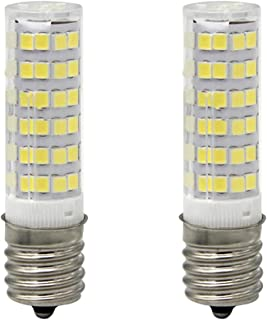 LED Daylight Bulb with E17 Intermediate Base,120 volt,5000k,550lm,Equivalent 40w to 60 watt Incandescent,Replaces T7/T8/S11 Light Bulb (Pack of 2)