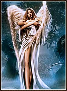 DIY 5D Diamond Painting by Number Kits, 5D Full Drill Diamond Painting Kit Cute Angel Full Drill Home Decoration Mosaic Embroidery Craft Cross Stitch Gift (Cute Angel, 30x40cm)