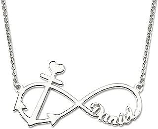 custom anchor necklace