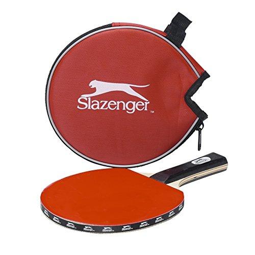 Slazenger 22539 - Racchetta da tennis da tavolo, 2 stelle, 2 pezzi