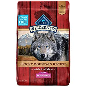 Blue Buffalo Wilderness High Protein, Natural Adult Small Breed Dry Dog Food and Wet Dog Food