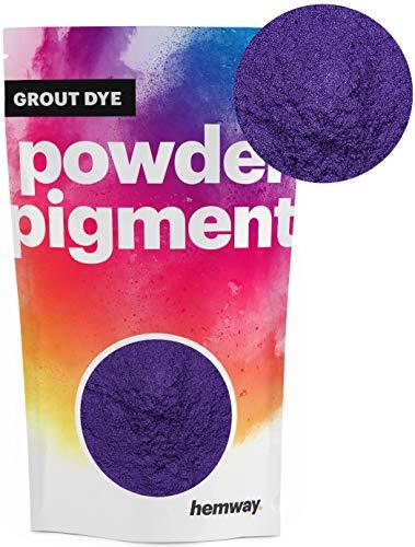 Hemway Grout Dye Pigment Beton Kleur Poeder Render Mortel wijzen Poedervormige Baksteen Toner 50g Metallic Paars Violet