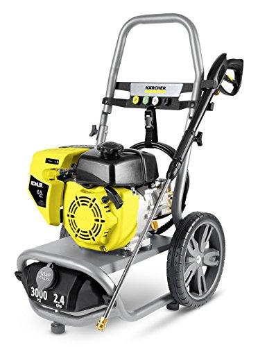 Karcher 1.107-386.0 G3000XK Gas Pressure Washer, Gray/Yellow