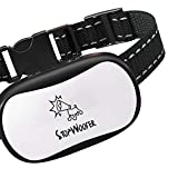 STOPWOOFER Dog bark Collar for Small Medium and Large Dogs - No Shock Humane and Effective - Anti-Barking Collar Corrects Barking with Sound Warning and Vibration-Anti bark Collar no Dog Control