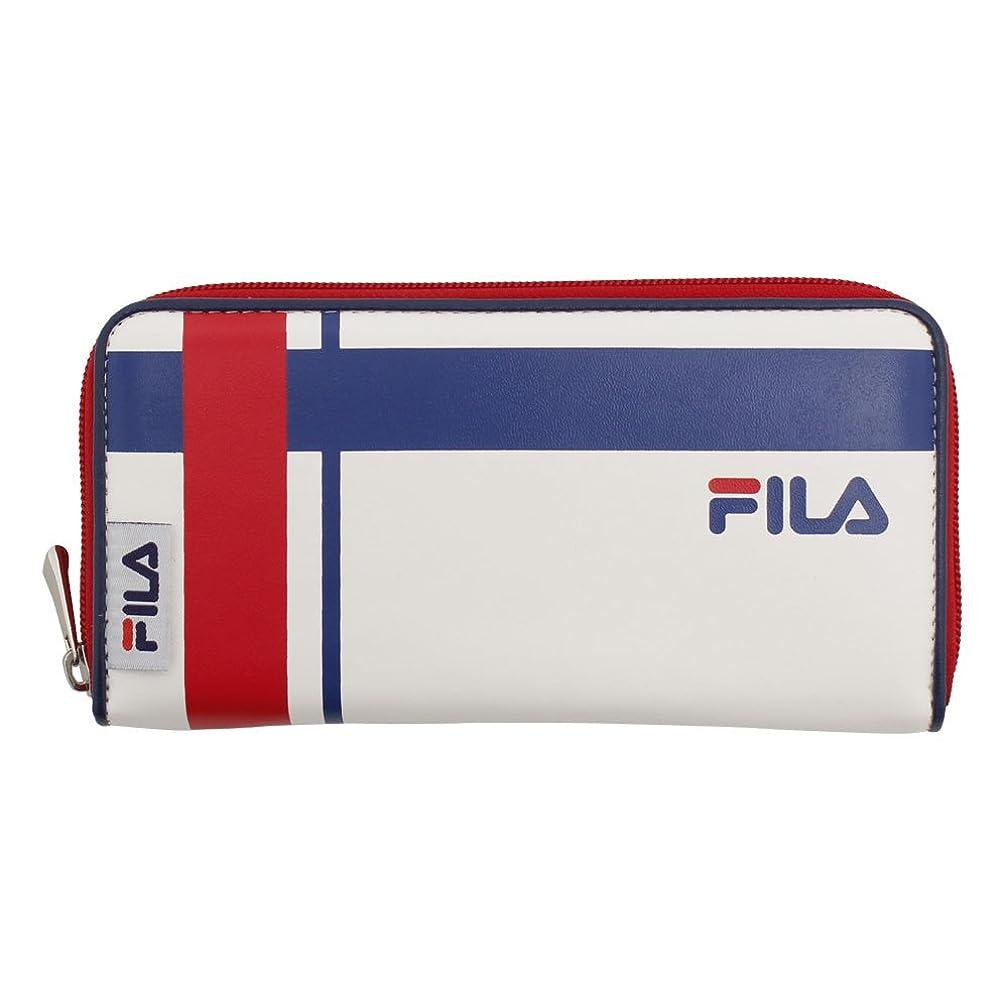 韓国語延ばす申込みフィラ(フィラ) トリコロール 財布 FLTR001RFT-WHT
