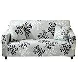Stretch Sofa Slipcover 1-Piece Polyester Spandex Fabric Couch Cover Chair Loveseat Furniture Protector