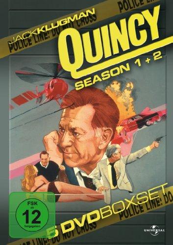 Quincy - Season 1 + 2 [5 DVDs]