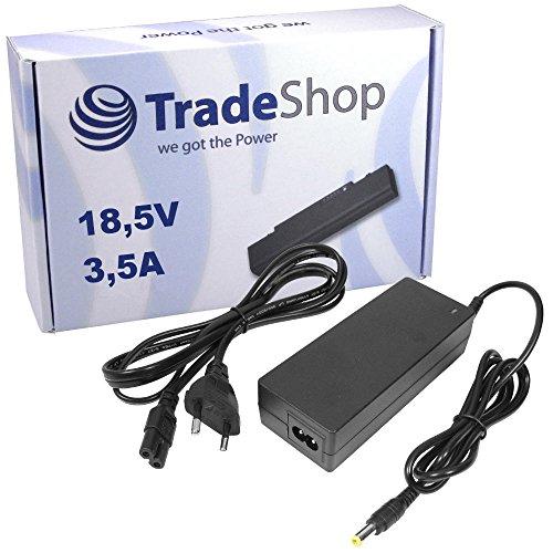Notebook Laptop Netzteil Ladegerät Ladekabel Adapter 18,5V 3,5A 7,5mm x 5mm Stecker inkl. Stromkabel für Hewlett Packard HP NX-6330 NX-7300 NX-7400 NX-9420 NW-8440 NW-9440 Mobile Workstation