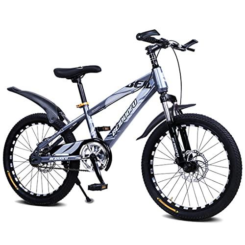 MXSXN Bicicletas para Niños para Niños Y Niñas De 5 A 14 Años Bicicleta para Niños De 16'18' 20'22' Pulgadas con Freno De Disco Que Absorbe Las Vibraciones,22'