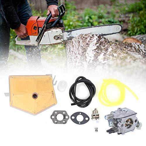 DAUERHAFT Kit de carburador de Material de Aluminio Carburador de Motosierra para Pieza de Motosierra
