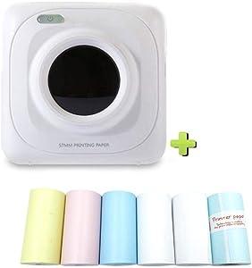 Mini Printer Impressed by Mini Portable hot Bluetooth Printer Wireless Pocket Printer