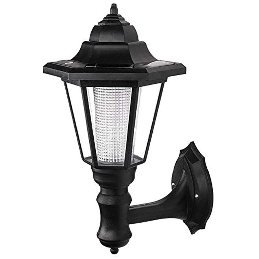Egursソーラーウォールランタン屋外用LED壁取り付け用燭台ランタンウォールライトセキュリティライト用ガーデンフェンスヤード