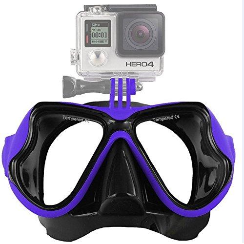 Los deportes acuáticos equipo de buceo máscara de buceo de natación Deportes acuáticos LLD máscara de buceo Equipo de buceo que nadan los vidrios for GoPro HERO NUEVO / HERO6 / 5/5 Sesión / 4 Sesión /