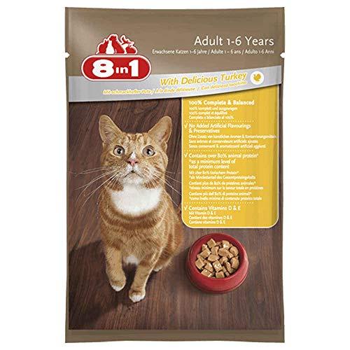 8in1 8IN1–Sachet Frische an der Pute für Katzen–100g