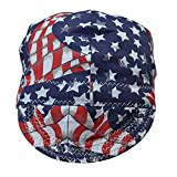 Perimeter 24 inch Fashion style Welding Caps Of Colorful Flag for Welders