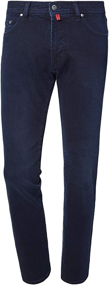 Pierre cardin, jeans per uomo,98% cotone, 2% elastan Deauville