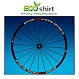 Ecoshirt K0-2I4V-H8UE Pegatinas Stickers Llanta Rim Progress Xcd EVO Am44 MTB Downhill, Gris 29'