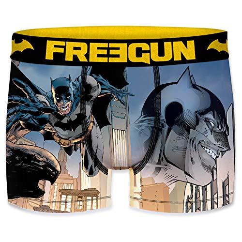 FREEGUN - Bóxers - para Hombre Batman Comics Gotham L