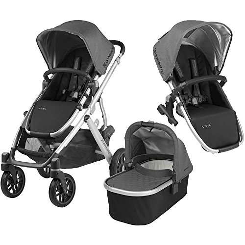 UPPAbaby Full-Size Vista Infant Baby Stroller & RumbleSeat...