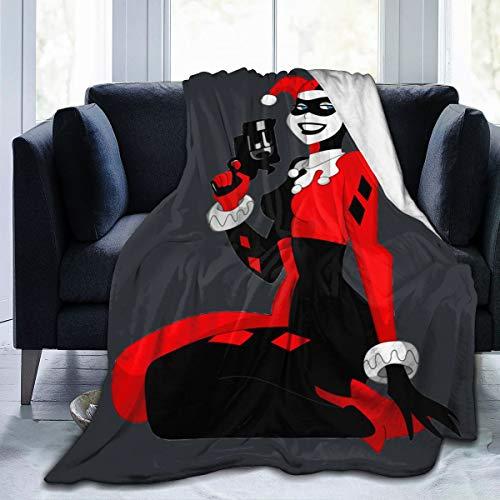 51wrOLGeC-L Harley Quinn Blankets