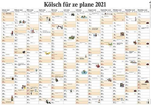 Kölsch für ze plane 2021: Wandplaner