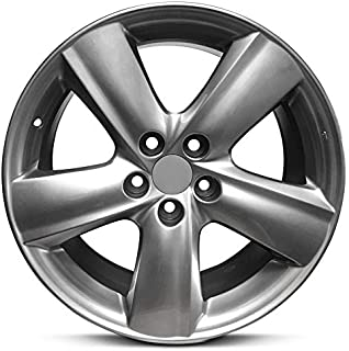 Road Ready Car Wheel For 2011-2013 Lexus IS250 IS350 18 Inch 5 Lug Silver Aluminum Rim Fits R18 Tire - Exact OEM Replacement - Full-Size Spare