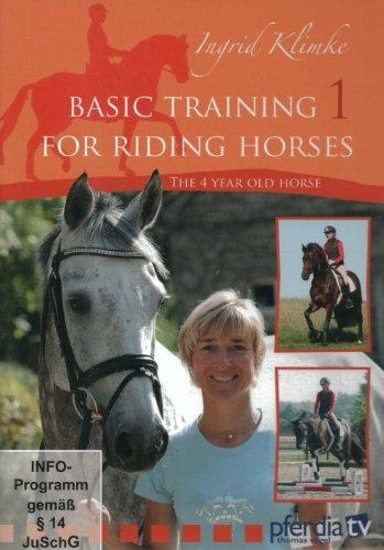 BASIC TRAINING FOR RIDING HORSES Volume 1 Ingrid Klimke