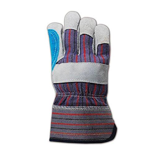 MAGID Top Gunn TB905EDP Leather Glove, Safety Cuff, Large (12 Pair)