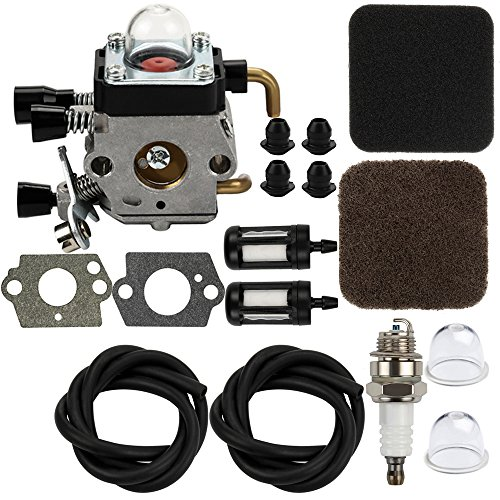 Dalom C1Q-S42B Carburetor w Air Filter Tune Up Kit for STIHL KM80 KM85 HS75 HS80 HS85 HT70 HT75 SP80 SP85 FC75 FC85 Hedge Trimmer Clipper