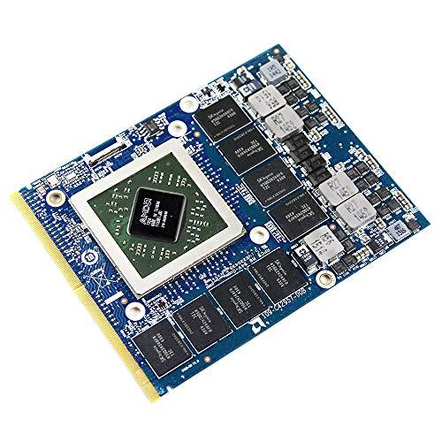 Original 2GB Graphics Video Card Replacement for Alienware M15X R2 M17X R4 R2 M18X R2 R3 18 17 R1 R2 R3 Gaming Laptop, AMD Radeon HD 7970M GDDR5 2 GB, GPU Upgrade MXM VGA Board Repair Parts