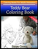Teddy Bear Coloring Book For Adults Relaxation 50 pictures: Teddy Bear sketch coloring book Creativity and Mindfulness