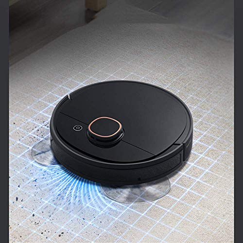 Find Cheap Jsmhh Robot Vacuum Cleaner Strong Suction Thin Super Quiet Easy Schedule Cleaning and Sel...