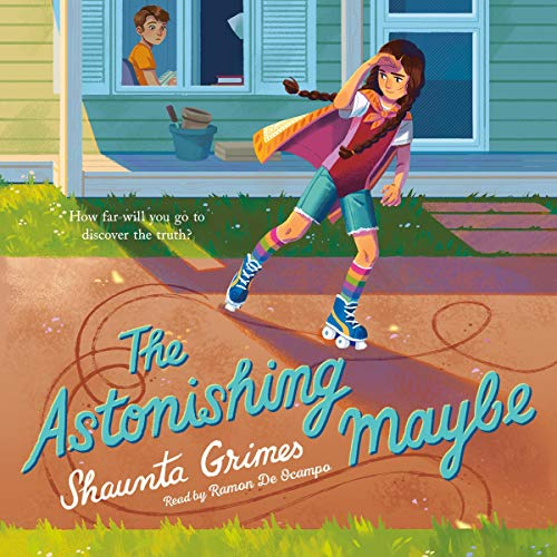 The Astonishing Maybe audiobook cover art
