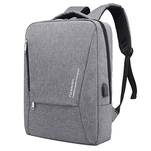 AIni Rucksack Herren Multifunktionsschulrucksack Laptop Tasche Mit USB Jack GeschäFts Taschen Schulrucksack Business Wandern Reisen Camping Tagesrucksack
