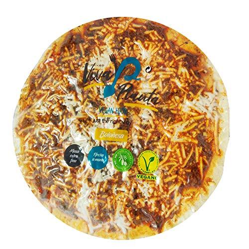 Viva Planta Pizza Boloñesa Vegana | con Sheese 100{625276117dfb3e1d86bf84e2408ff184698db54928d4f53d8925a6452c7c4102} sin lácteos queso 310g (Pack de 3)