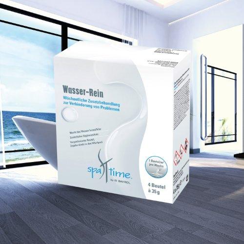 BAYROL SpaTime Wasser-Rein Whirlpool Whirlpoolpflege Spa Time 4x 35g Hot Tub perfect-spa