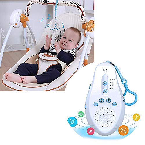 POIUYT New Intelligent Baby Sleep Instrument White Noise Sleep Comforting Music Portable Sleep Aid For Baby Relaxation