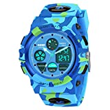 SOKY Kids Watches for Boys Ages 5-15 Waterproof Sports Watches for Kids Girls Boys 8-12 Birthday...