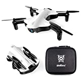 Cheerwing U29S-E Foldable Mini Drone for Kids and Adults WiFi FPV Drone with 120° Wide-Angle 720P HD Camera