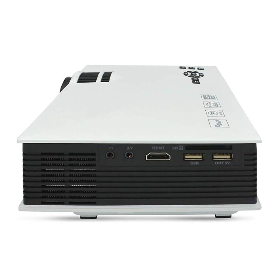 素子の配列音声学4000ルクス映画プロジェクター、フルHD 1080 P対応、ホームシアタープロジェクター対応のiPhone、PC、DVD、Fire TVスティック、PS4、Xbox、HDMIケーブル付き,White